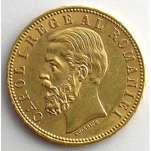 20 Lei   1890 B  (Bucarest)    SUP