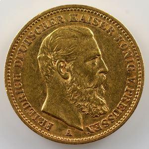 20 Mark   1888 A    TTB