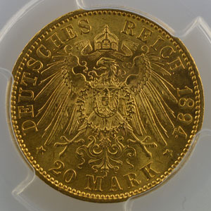 20 Mark   1894 A    PCGS-MS63    SUP/FDC