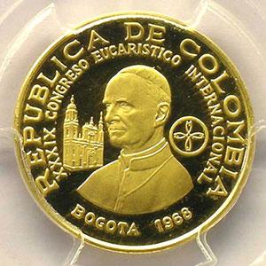 200 Pesos   1968    PCGS-PR64DCAM    BE