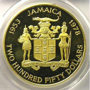 250 Dollars   1978    PCGS-PR63DCAM    BE