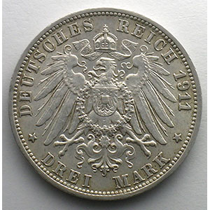 3 Mark   1911 F    TTB+