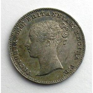 3 Pence   1851    TTB/TTB+