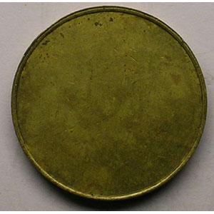 30 Rp  (uniface)    Lt, R,   21 mm   TTB