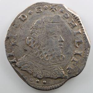 4 Tari   Philippe IV  (1621-1663)   1624 I P  (Messine)    TTB  quelques rayures à l'avers