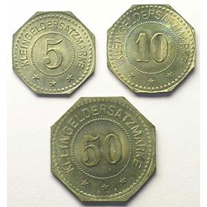 5, 10, 50 (Pf)    FDC