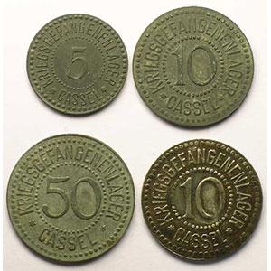 5, 10, 50 (Pf) zinc, 10 (Pf) fer    TTB