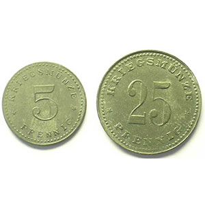 5, 25 Pf    SUP