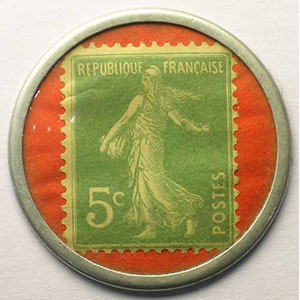 5 Cent vert/rouge    TTB+