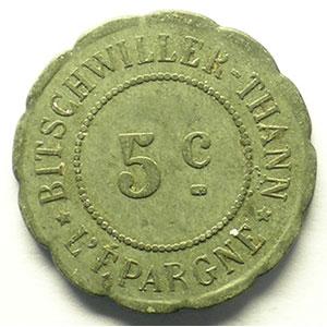 5 cent   Zn Rf, 23mm    TTB
