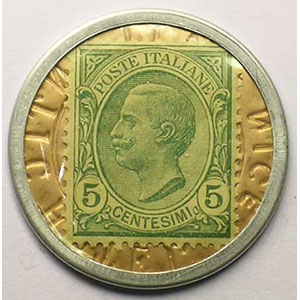 5 Centesimi vert    SUP/FDC