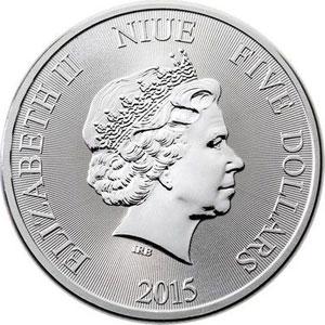 5 Dollars   2015   Tortue Niue Hawksbill    FDC