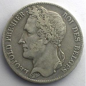 5 Francs   1847    TTB/TTB+