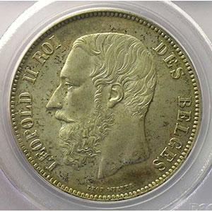 5 Francs   1873 position A    PCGS-MS63    SUP/FDC