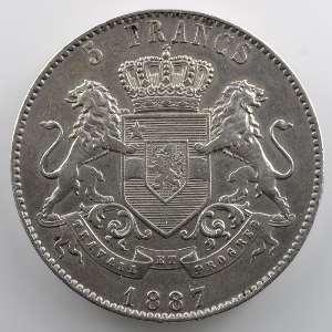 5 Francs   1887    TTB