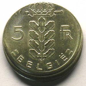 5 Francs   1962  FL    SUP
