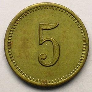 5 (Rappen)   Lt, R,   18 mm   SUP
