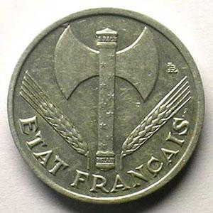 50 Centimes 1943   coins tournés à 80°    TTB+/SUP