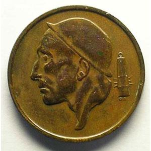 50 Centimes 1955  FR   coins tournés 15°    TTB+