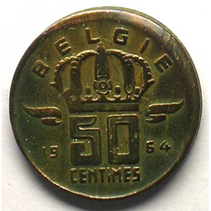 50 Centimes 1964  FL    SUP