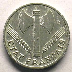 50 Centimes  Bazor   1942    TTB