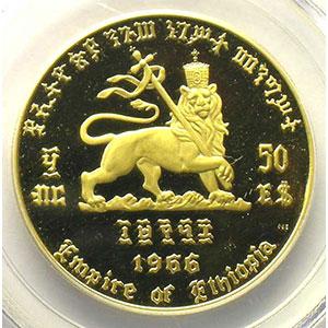 50 Dollars   EE1958 (1966)    PCGS-PR64DCAM    BE