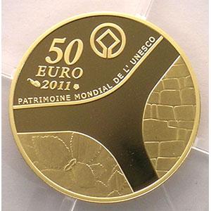 50 Euro   2011   Château de Versailles    BE