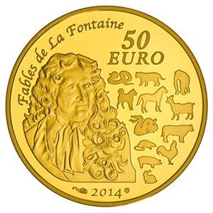 50 euro   2014   année du Cheval    BE