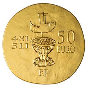 50 euro   Clovis   2011    BE