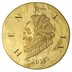 50 euro   Henri IV   2013    BE