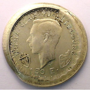 50 Francs   1946    FDC