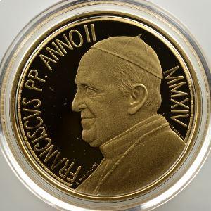 50 €   MMXIV  (2014)   450ème anniversaire de la mort de Michelange    BE  Proof