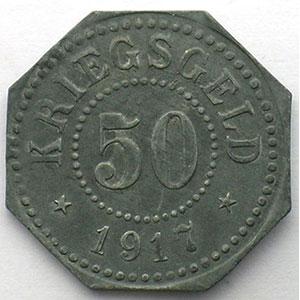 50 (pf)   1917   Zn,8   24,5mm    TTB