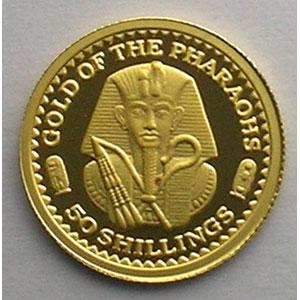 50 Schillings   2002   Gold of the Pharaons    BE