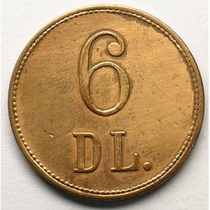 6 D L.   Cu,R,   23 mm   TTB