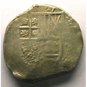 600 Reis   Alphonse VI  (1656-1667)    TB/TTB