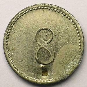 8(Pf ?)  Zn Ni, R   20,5 mm   (Percé)   TB