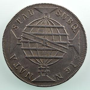 960 Reis   1818 R  (Rio de Janeiro)    TTB+