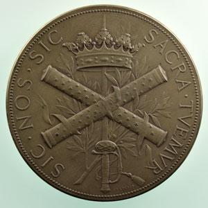 CHAPLAIN   médaille en argent   70mm    SUP/FDC