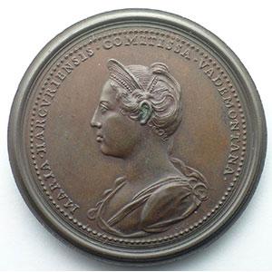 Antoine, comte de Vaudémont   bronze   47 mm    SUP