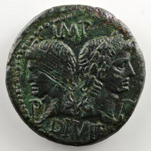 As   Auguste et Agrippa   Nîmes    TTB/TTB+