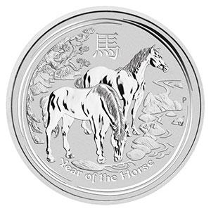 AUSTRALIE   30 Dollars   Astrologie chinoise, année du cheval - Lunar Horse   2014    BE