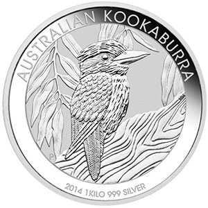 AUSTRALIE   30 Dollars   Kookaburra   2014    BE