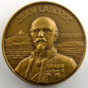 BARON   Médaille en bronze  59mm   Compagnie des Messageries Maritimes   Jean Laborde   1953    SUP/FDC