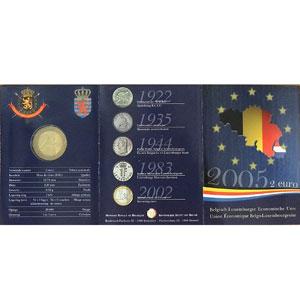 Belgique   2005   blister Union Economique Belgo-Luxembourgeoise    FDC