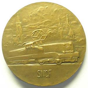 BELMONDO   bronze   octobre 1957   50mm    SUP