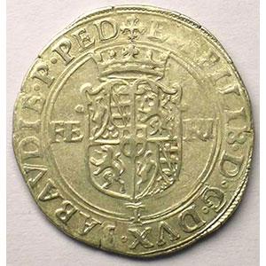 Blanc de 4 Soldi   Emmanuel Philibert  (1553-1580)   1563 T  (Turin)    TTB