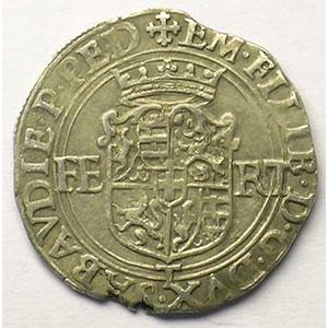 Blanc de 4 Soldi   Emmanuel Philibert  (1553-1580)   1576 T  (Turin)    TTB