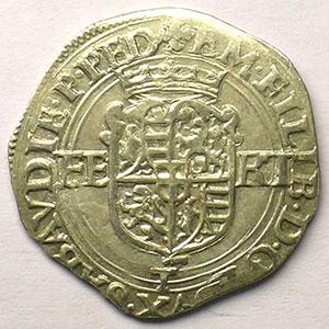 Blanc de 4 Soldi   Emmanuel Philibert  (1559-1580)   1577 T  (Turin)    TTB