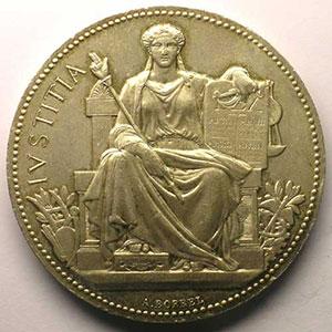Monnaies jetons m dailles numismatique de la justice - Huissier de justice chambre nationale ...